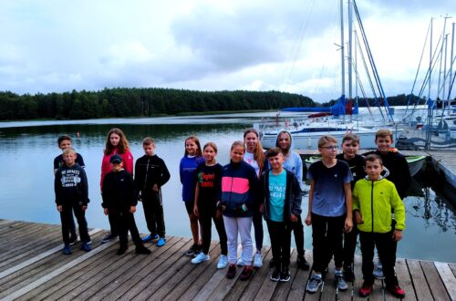 Obóz żeglarski klasy 7a i 7b
