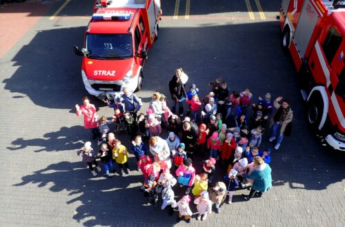 Zerówki odwiedziły strażaków